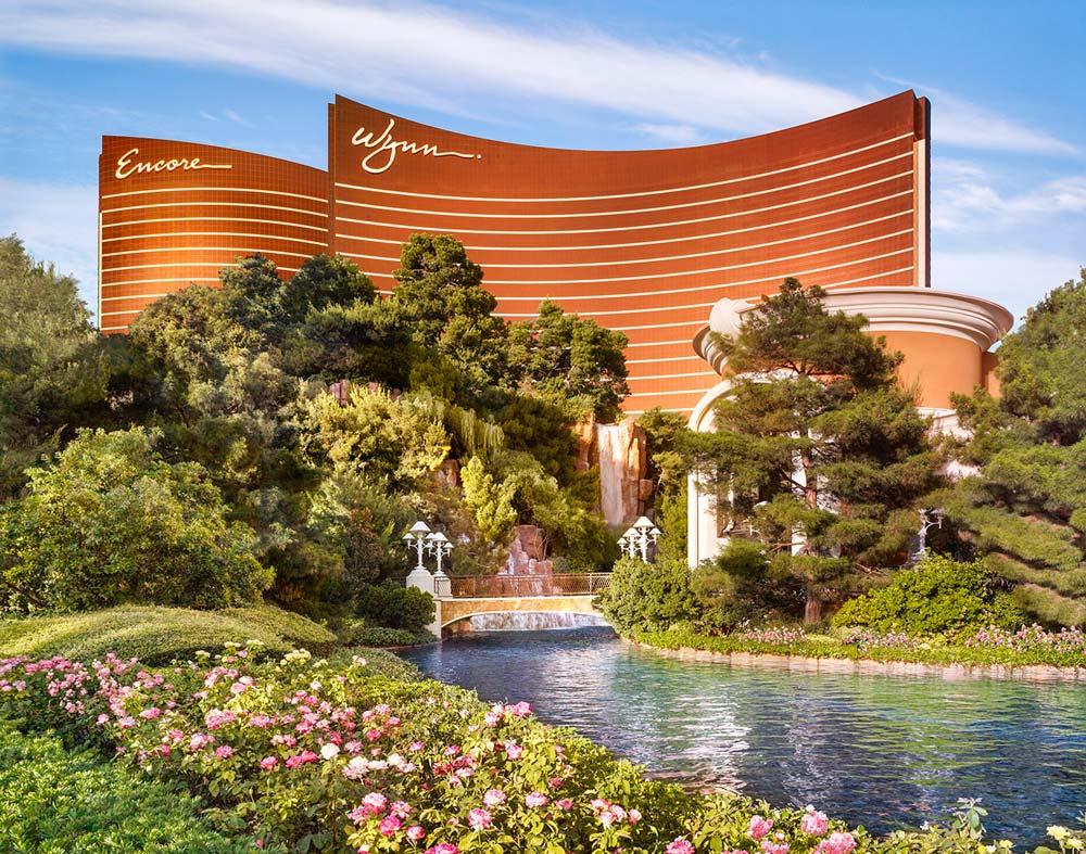 Exterior of Wynn Las Vegas