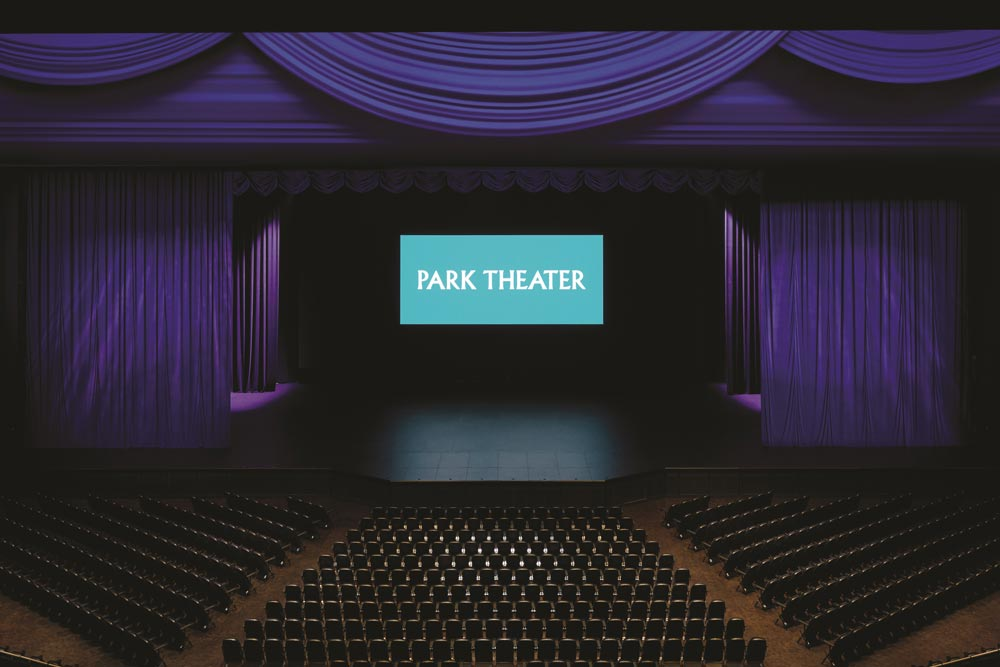 Park Theater Interior