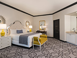 Paris Remodeled Elegant Suite 1 King or 2 Queens