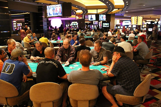 Best Poker Room Action Las Vegas