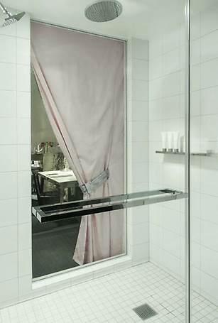 Lux Tower peek-a-boo shower