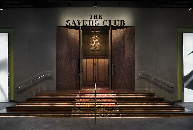 The Sayers Club entrance