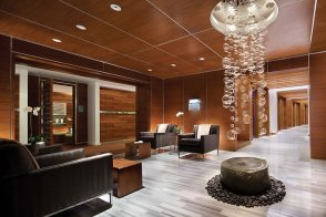 Spa treatment lobby
