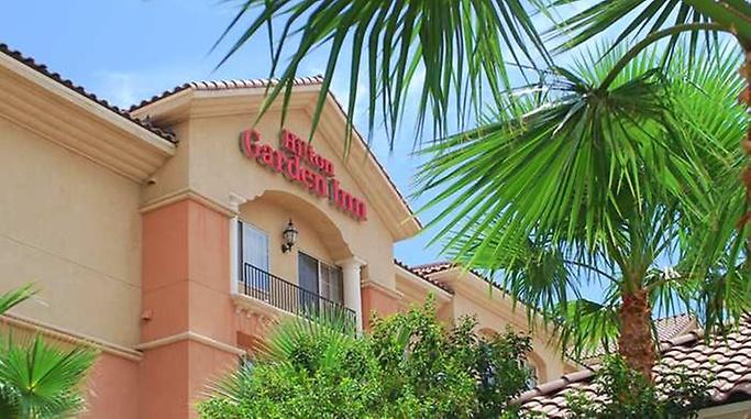 hilton garden inn las vegas strip south entrance exterior exterior - Hilton Garden Inn Las Vegas