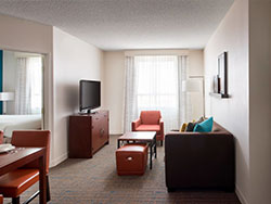 Residence Inn by Marriott Las Vegas Hughes Center 2 Bedroom Suite 2 Queen 2 Bath
